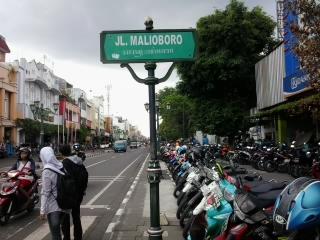 Malioboro Yogyakarta Main Street